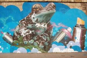 Frosch von Wien