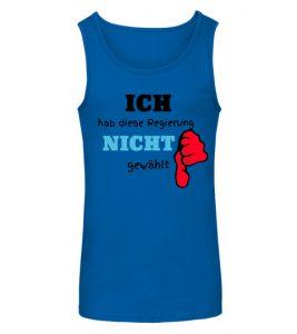Nicht gewählt T-shirt in Blau